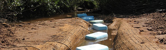 Polymer System to Filter water, reduce phosphates, improve water quality for industrial use