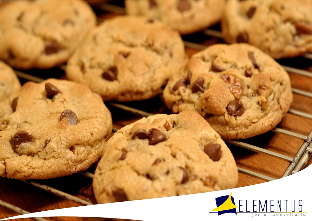 Biscoito tipo cookies
