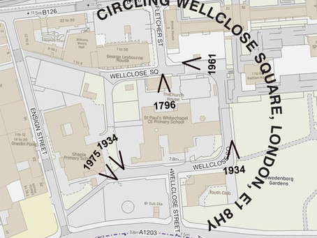 Past Peeps : Circling Wellclose Square