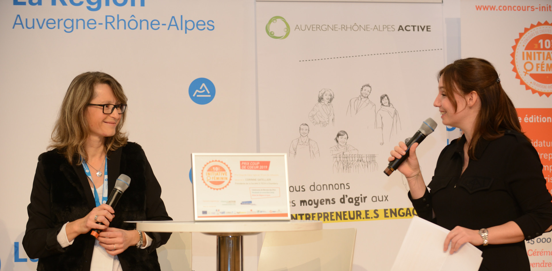 Prix Coup de coeur : Corinne Gatellier - D TECH (Savoie - 73)