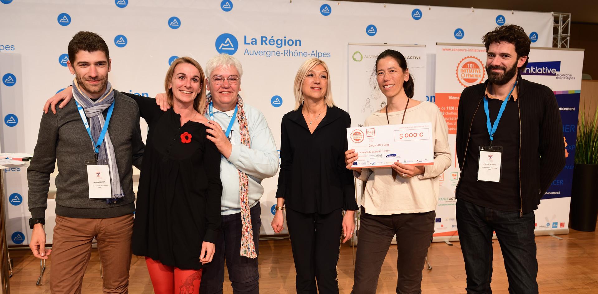 Grand Prix : Magalie Granjon et Laure Castaing - Epicerie de Saoù (Drôme - 26)