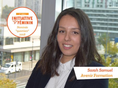 [Portrait] Sarah Samuel - Avenir Formation