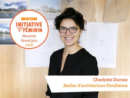 [Portrait] Charlotte Dumas - L'atelier d'architecture Panthéons