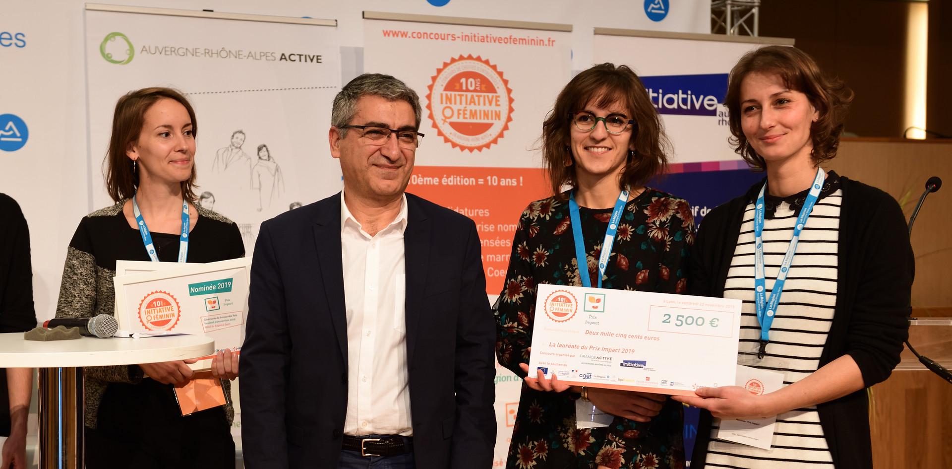 Prix Impact : Ludivine Thiburs et Charlotte Dubaillou - Le Repère des Z'Héros (Haute-Savoie - 74)
