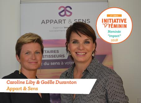 [Portrait] Caroline Liby et Gaëlle Duranton - Appart & Sens