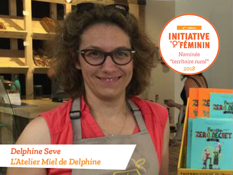 [Portrait] Delphine Sève - L'Atelier Miel de Delphine