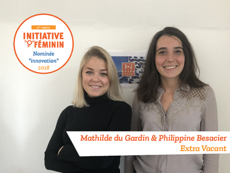 [Portrait] Mathilde du Gardin et Philippine Besacier - Extra Vacant