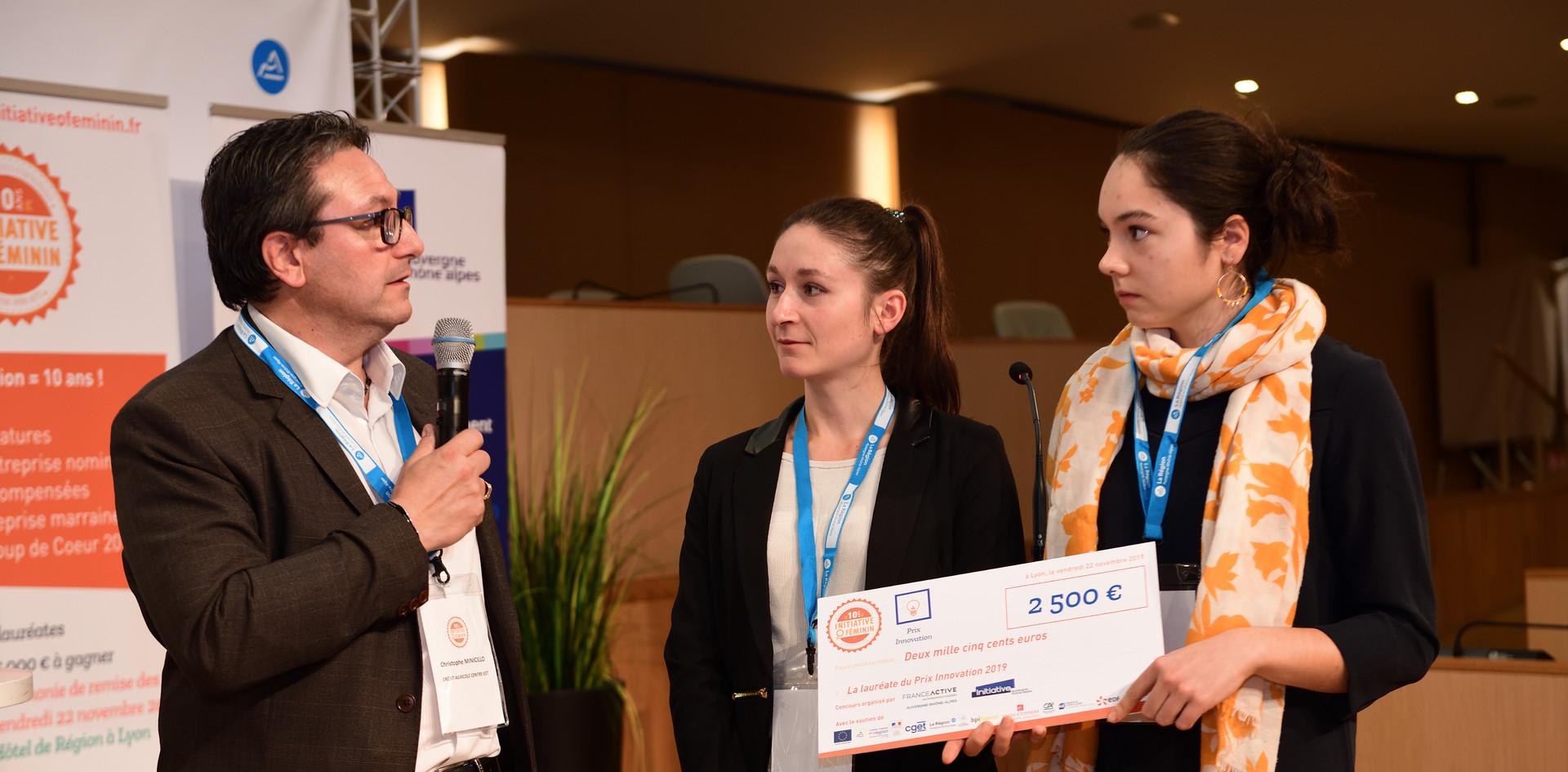 Prix Innovation : Estelle Evieux et Mégane Richez - QWILD (38 - Isère)