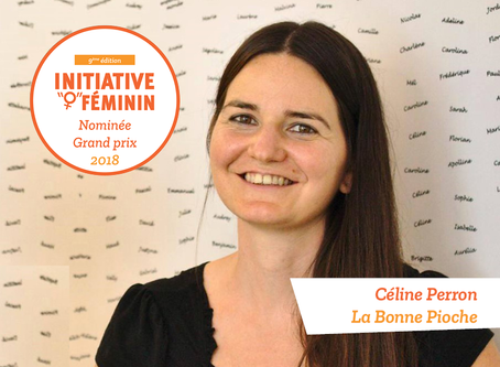 [Portrait] Céline Perron - La bonne Pioche