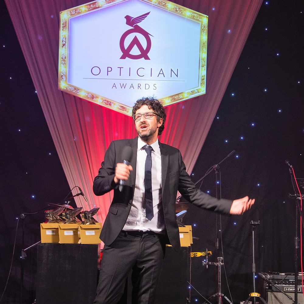 Mark Watson hosting Optician Awards 2018