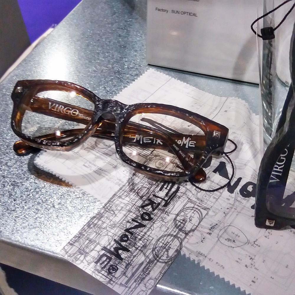 Fossil inspired eyewear by Metronome, handmade in Japan, born in London.