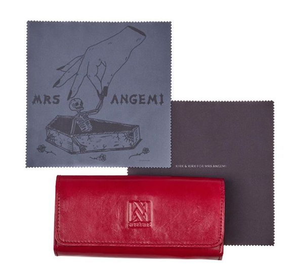 Mrs Angemi Cloth and Case Special Edition Collaboration with Kirk and Kirk