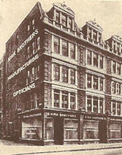 Kirk Brothers, London, were pioneers in British independent eyewear.