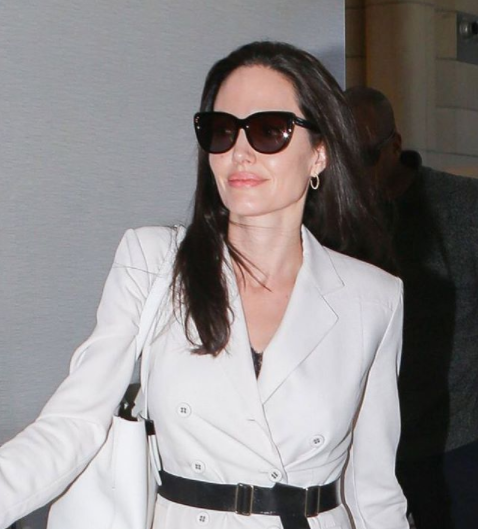 Angelina Jolie wears Shauns California sunglasses, in stock at Spectacle Emporium