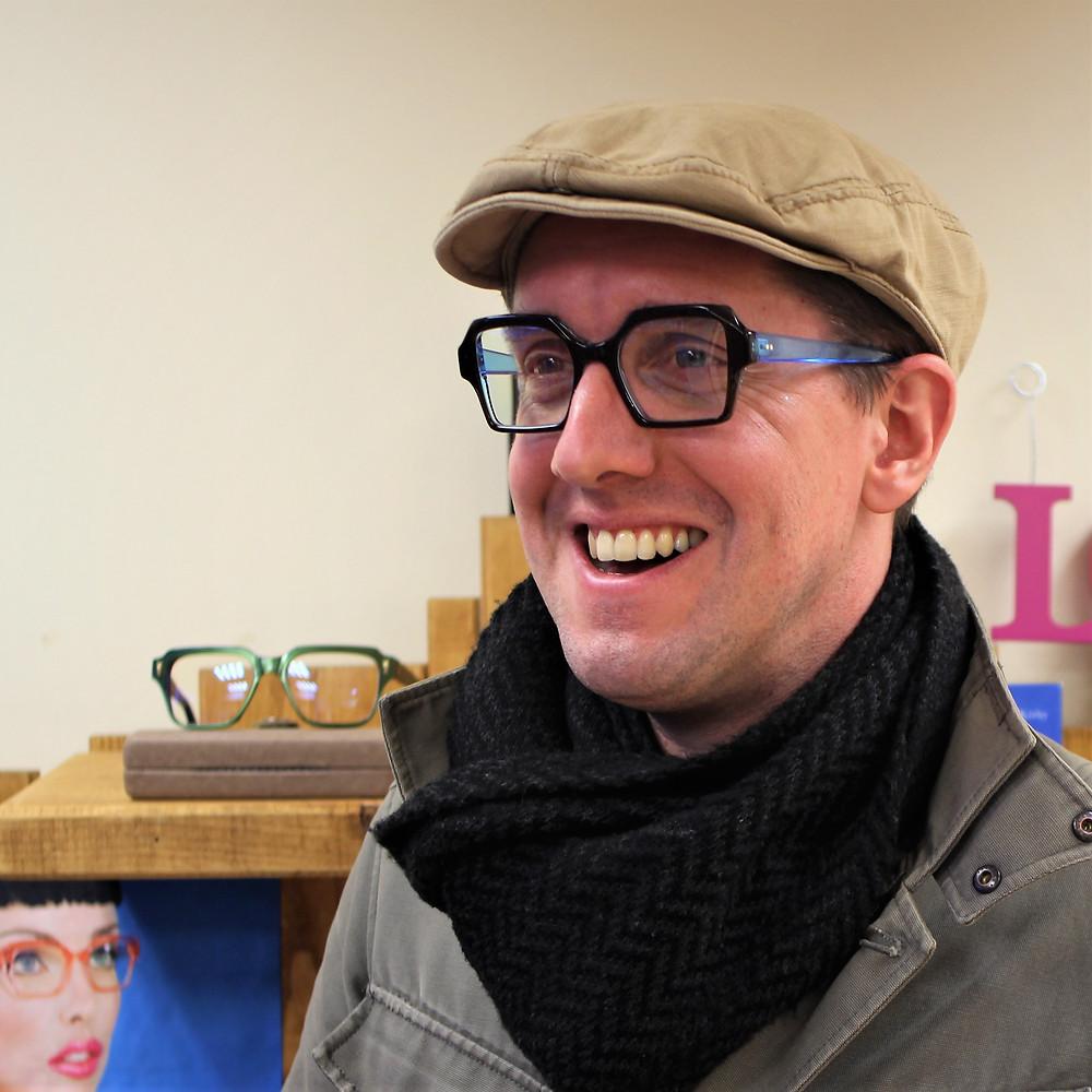 Dapper Peaky blinds designer eyewear glasses in Birmingham