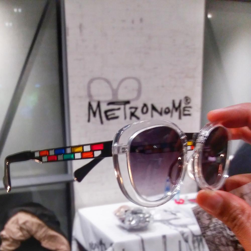 Stained glass eyewear by Metronome. Designer eyewear in Kings Heath Birmingham