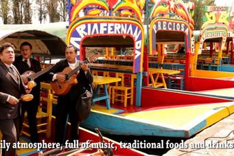 La réinvention des trajineras au Mexique