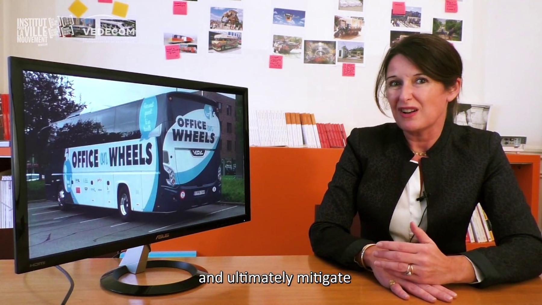Office on wheels in Belgium