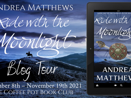 Blog Tour: Ride with the Moonlight (Thunder on the Moor, Book 2) by Andrea Matthews @AMatthewsAuthor
