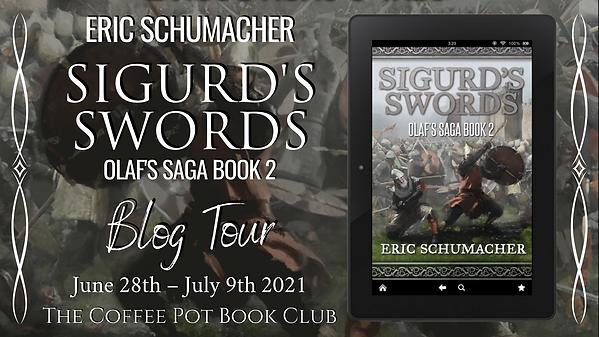 Sigurd's Swords Blog Tour Americano Bann