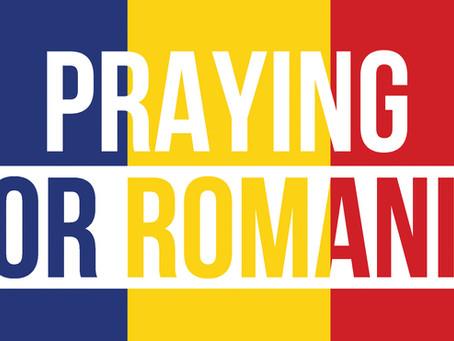 Praying for Romanian