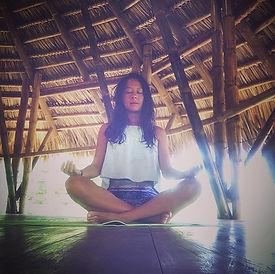 Jungle vibes 🌴 + Yoga 🧘♀️ _dreamsea_n