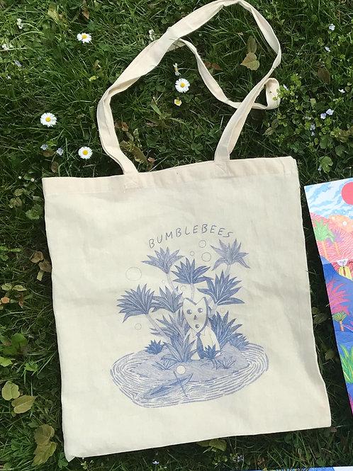 Bumblebees Tote Bag