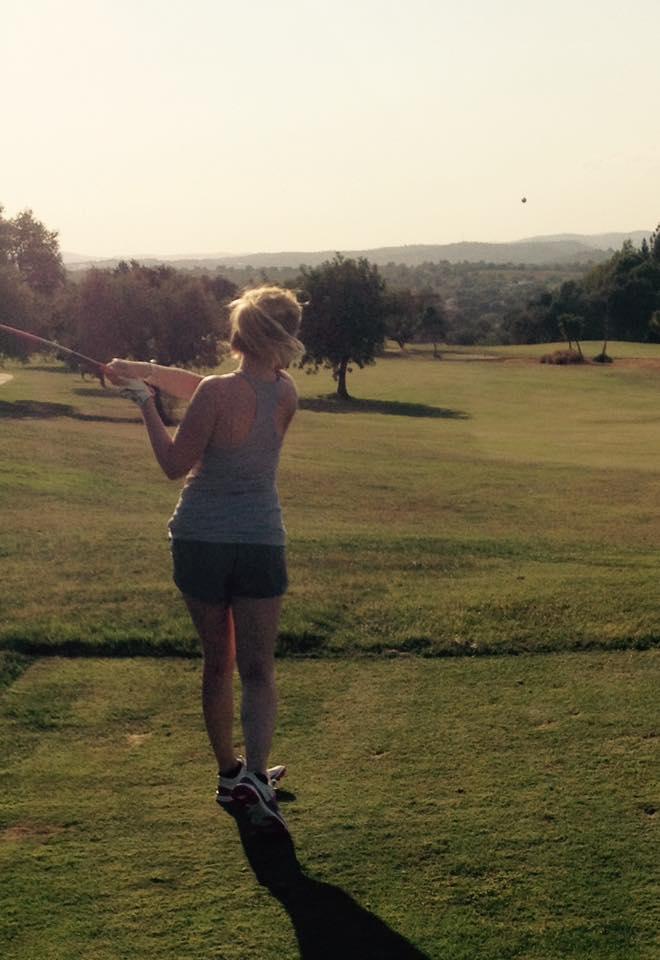 Hayley Benamar Golf