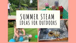 Summer STEAM Projects - Play, Explore & Learn Outdoors