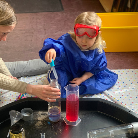 Mixing Potions with Mummy
