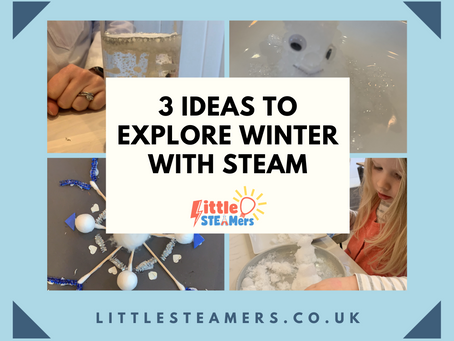 Three Ideas to Explore Winter with STEAM
