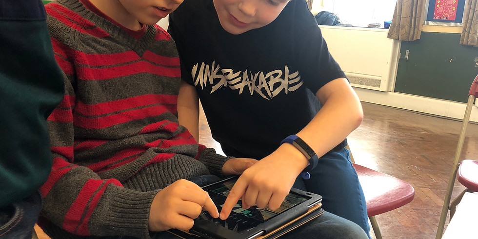 Inventing & App Making (ages 8-11)