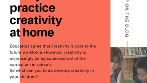 5 Quick Ideas to Practice Creativity & Innovation at Home