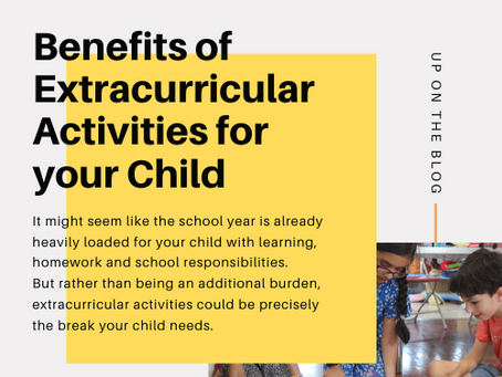 Extracurricular Activities: why bother?