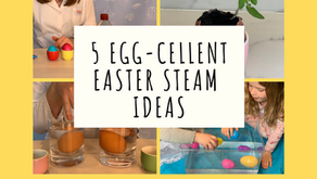 Easter STEAM - Egg-cellent Ideas for 2-5 Year Olds