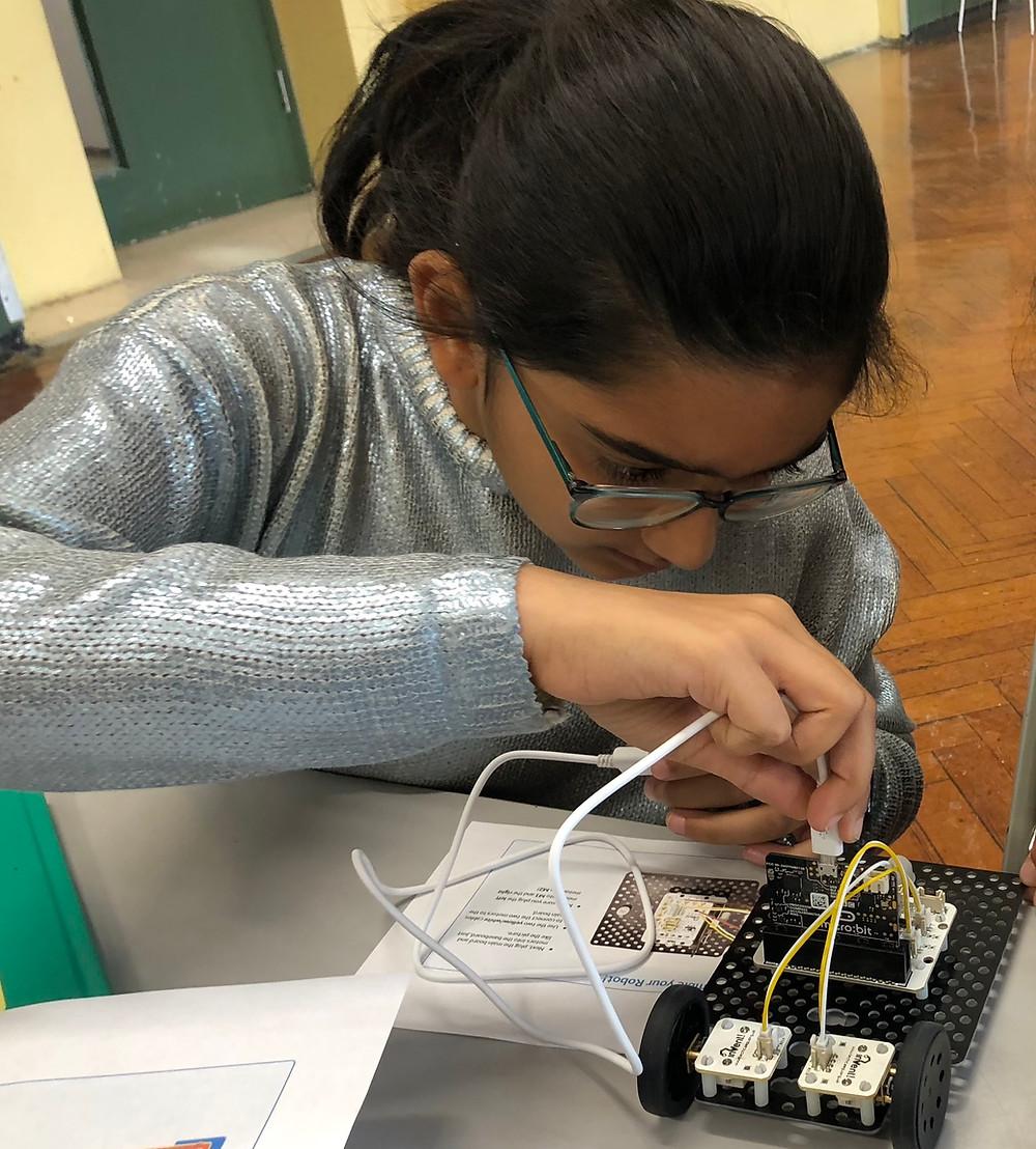 Robot wiring