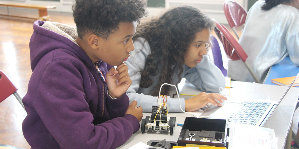 Robot Making (ages 8-12)