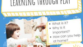 Learning Through Play: What does it mean and what can you do to help at home?