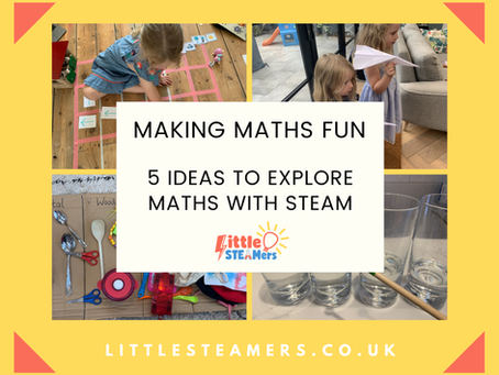 Putting the M in STEAM: 5 Ideas for Practical & Fun Maths Activities