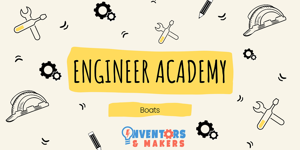 Engineer Academy - Boats (School Years 1-6)