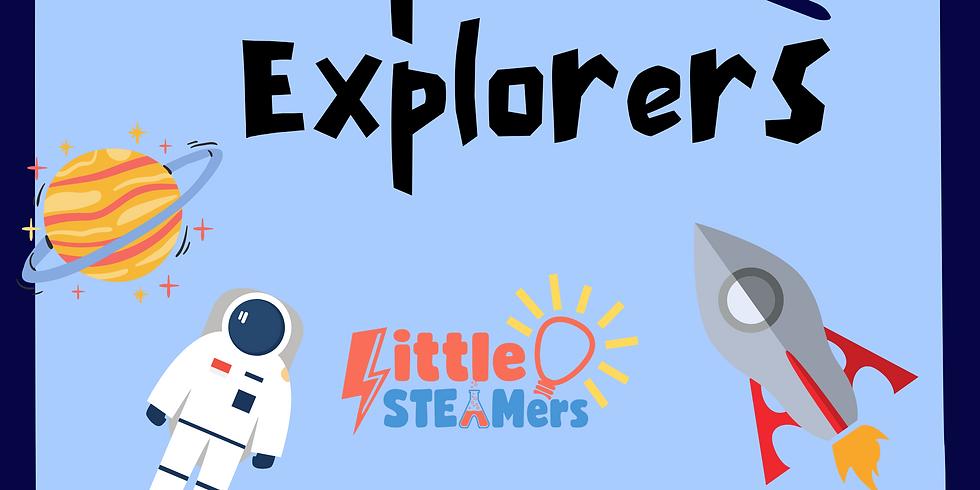 Weekend: Space Explorers Little STEAMers
