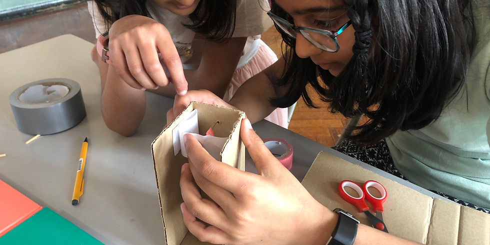 Inventing & Machine Making (ages 8-11): 1 or 2 Days
