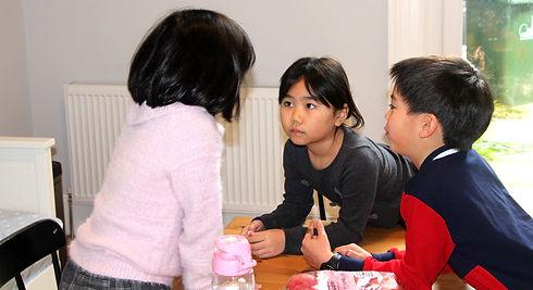 Children Collaborating
