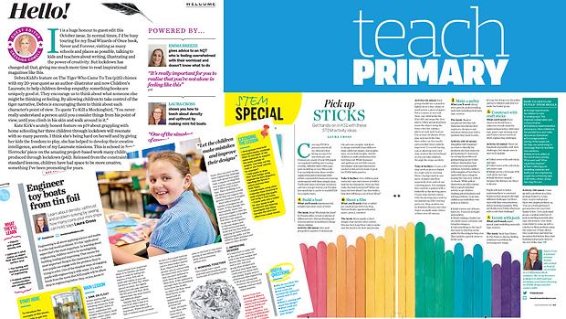 Copy of Double Pahe Spread in Teach Prim