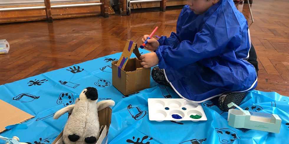 Mini Makers: Inventing & Making (ages 5-7)