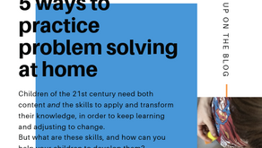 5 Ideas to Develop Problem Solving at Home