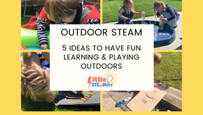 Ideas for Outdoor STEAM