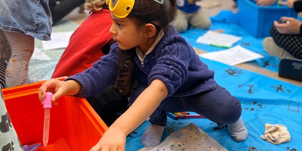Ealing Little STEAMers: Explore, Play, Learn (2-4 years)