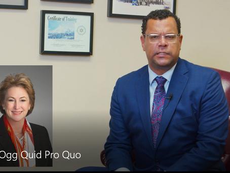 Harris County DA Kim Ogg' Quid Pro Quo: Charging Political Revivals of State Rep. Harold Dutton
