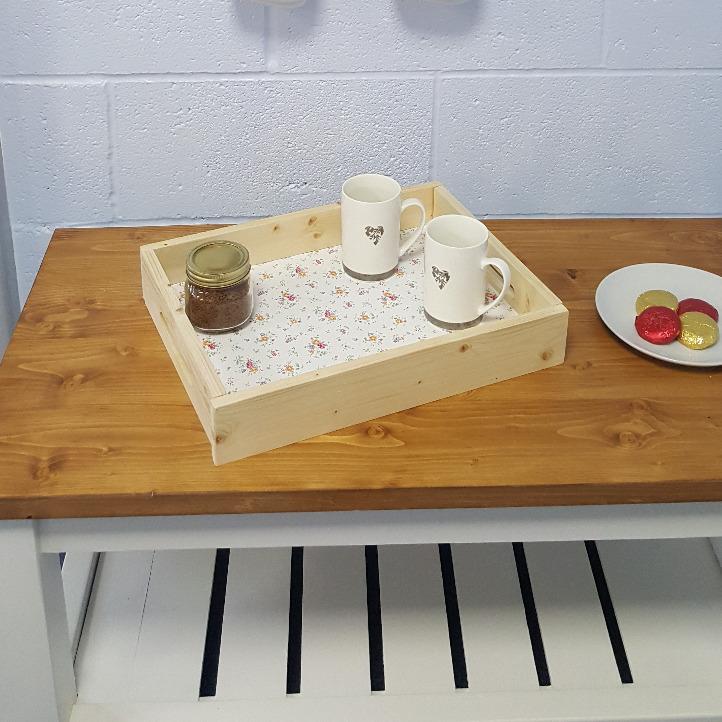 Handmade Tea Tray Shropshire